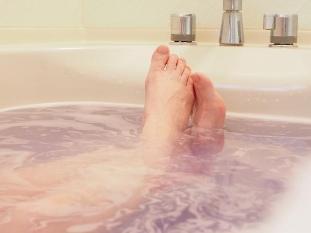 湯船の足のイメージ